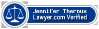 Jennifer M. Theroux  Lawyer Badge