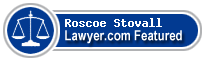Roscoe Stovall  Lawyer Badge