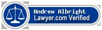 Andrew John Albright  Lawyer Badge