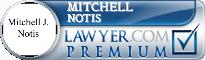 Mitchell J. Notis  Lawyer Badge