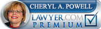 Cheryl Ann Powell  Lawyer Badge