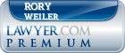 Rory Thomas Weiler  Lawyer Badge