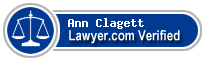 Ann Calvert Brooke Clagett  Lawyer Badge