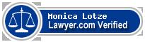 Monica Lotze  Lawyer Badge