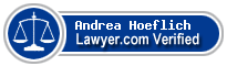 Andrea Hoeflich  Lawyer Badge