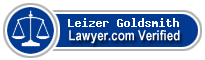 Leizer Z Goldsmith  Lawyer Badge