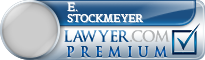 E. William Stockmeyer  Lawyer Badge