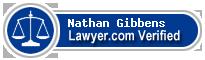 Nathan C. Gibbens  Lawyer Badge