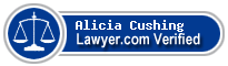 Alicia Margaret Cushing  Lawyer Badge