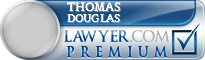 Thomas L. Douglas  Lawyer Badge