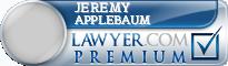 Jeremy Michael Applebaum  Lawyer Badge