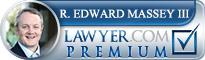 Ralph Edward Massey  Lawyer Badge