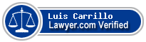 Luis D. Carrillo  Lawyer Badge