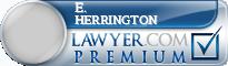 E. Darby Herrington  Lawyer Badge