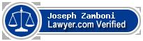Joseph C. Zamboni  Lawyer Badge