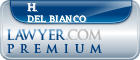 H. Peter Del Bianco  Lawyer Badge