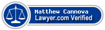 Matthew Joseph Cannova  Lawyer Badge