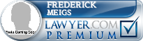Frederick Keith Meigs  Lawyer Badge