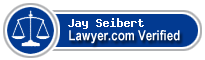 Jay Luther Seibert  Lawyer Badge