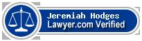 Jeremiah Michael Hodges  Lawyer Badge