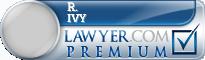 R. Lee Ivy  Lawyer Badge