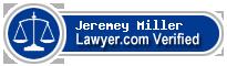 Jeremey A. Miller  Lawyer Badge