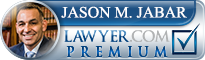 Jason M. Jabar  Lawyer Badge