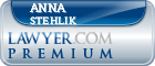 Anna L. Stehlik  Lawyer Badge