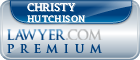 Christy L. Hutchison  Lawyer Badge