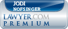 Jodi L. Nofsinger  Lawyer Badge