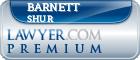 Barnett I. Shur  Lawyer Badge