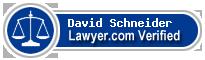 David E. Schneider  Lawyer Badge