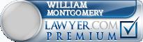 William Douglas Montgomery  Lawyer Badge