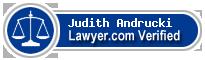 Judith W. Andrucki  Lawyer Badge