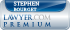 Stephen J. Bourget  Lawyer Badge