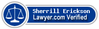 Sherrill Erickson  Lawyer Badge