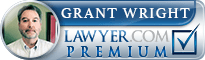 Grant Arnold Wright  Lawyer Badge