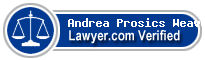 Andrea Prosics Weaver  Lawyer Badge