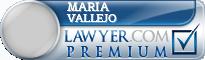 Maria Vallejo  Lawyer Badge