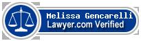 Melissa Gencarelli  Lawyer Badge
