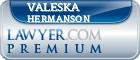Valeska A. Hermanson  Lawyer Badge