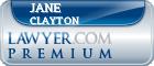 Jane S. E. Clayton  Lawyer Badge