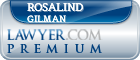Rosalind Prince Gilman  Lawyer Badge