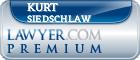 Kurt D. Siedschlaw  Lawyer Badge
