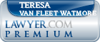 Teresa J. Van Fleet Watmore  Lawyer Badge