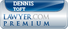 Dennis Toft  Lawyer Badge