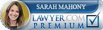 Sarah Mahony Eaton  Lawyer Badge