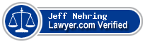 Jeff L. Nehring  Lawyer Badge