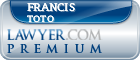 Francis K. Toto  Lawyer Badge