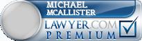 Michael Nicholas McAllister  Lawyer Badge